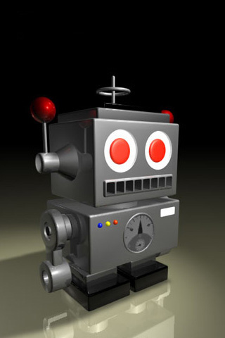 wallpaper iPhone Robot