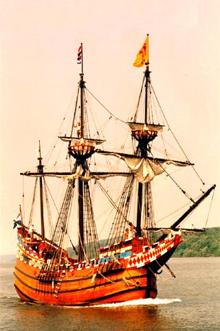 wallpaper iPhone Sailing ship