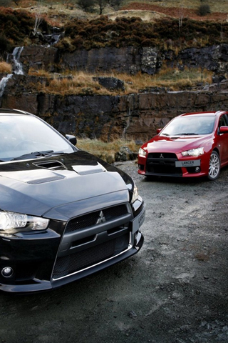 wallpaper iPhone 2009 Evo X