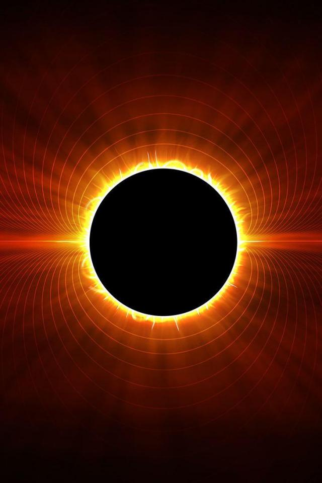 wallpaper iPhone Eclipse