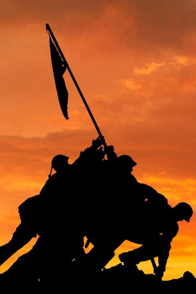 wallpaper iPhone Iwo Jima Memorial