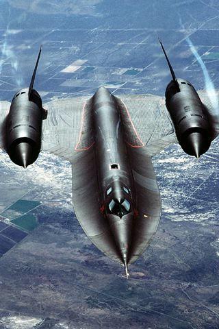 wallpaper iPhone SR-71 Blackbird