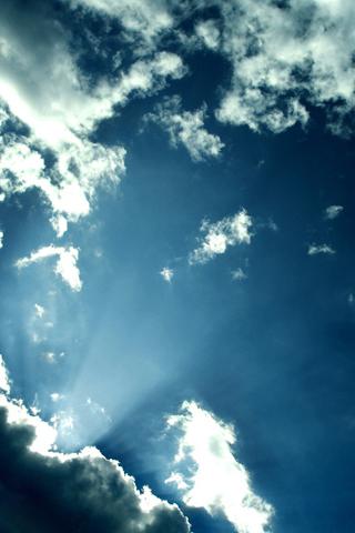 wallpaper iPhone Ciel nuage 299
