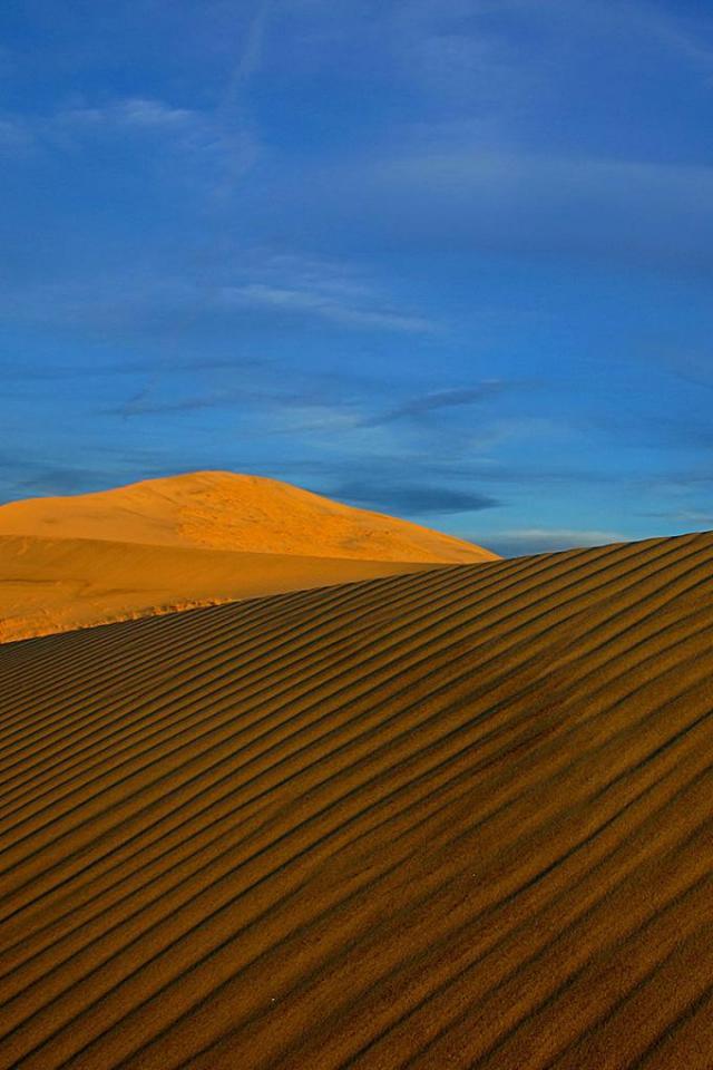wallpaper iPhone Rippled Dune