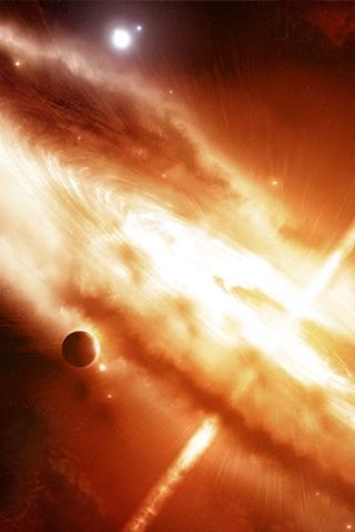wallpaper iPhone Star Implosion