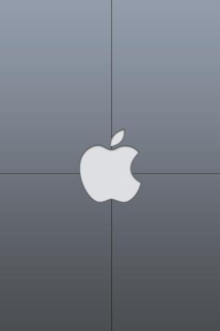 wallpaper iPhone Apple Grey