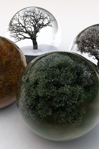 wallpaper iPhone Nature Globes