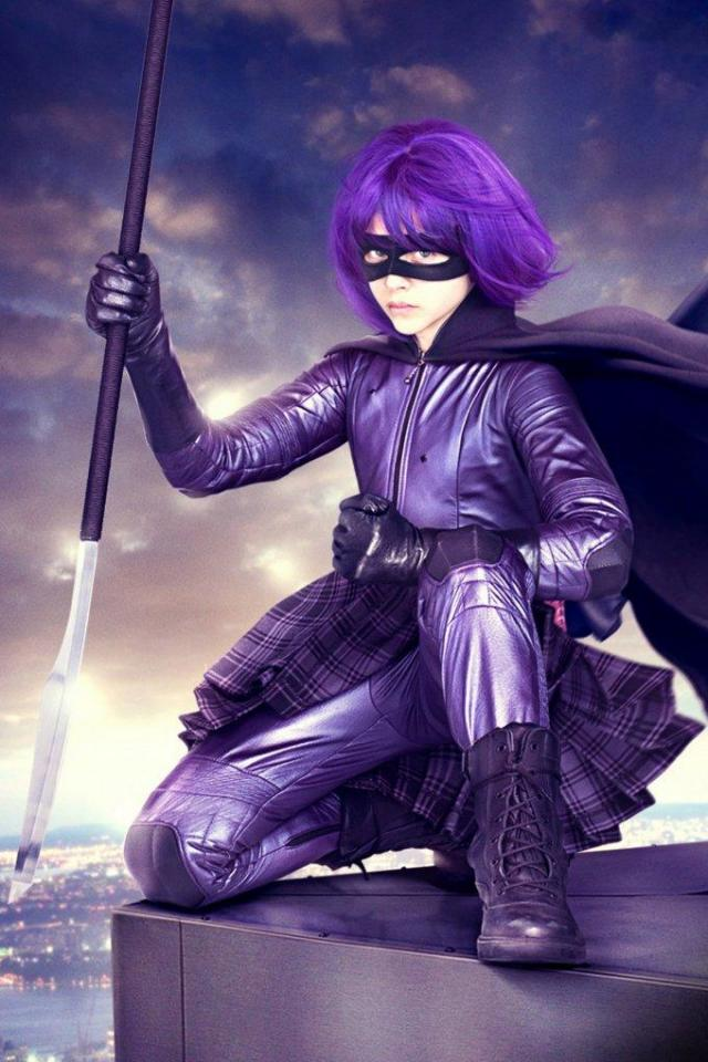 wallpaper iPhone Hit Girl
