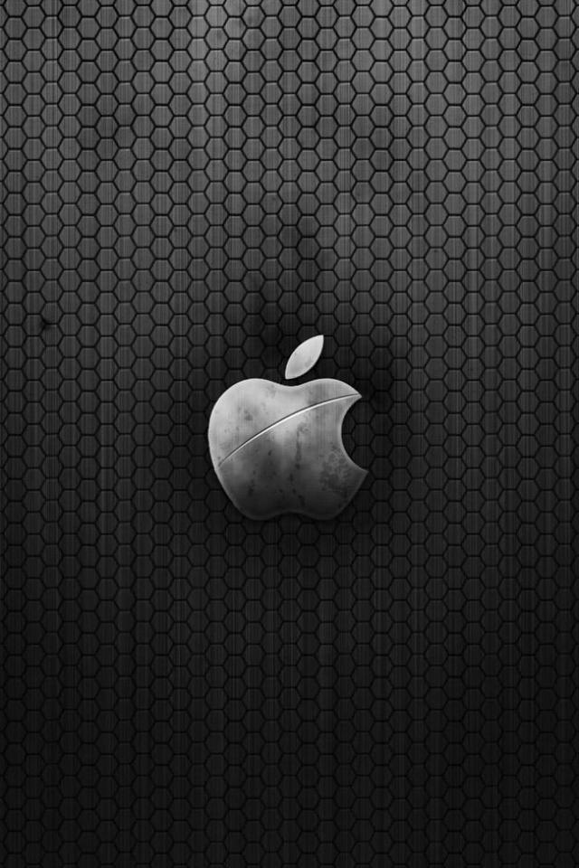 wallpaper iPhone Black Hex Apple