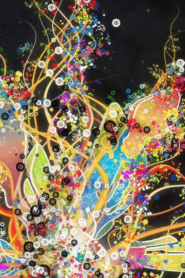 wallpaper iPhone Colorful Design