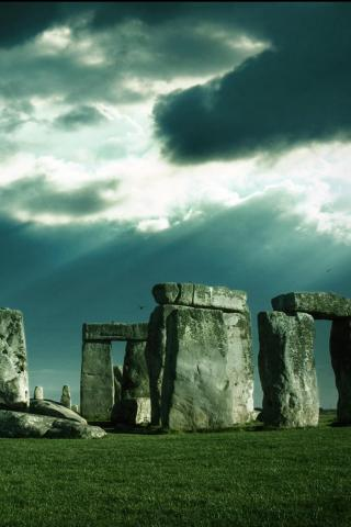 wallpaper iPhone Stonehenge