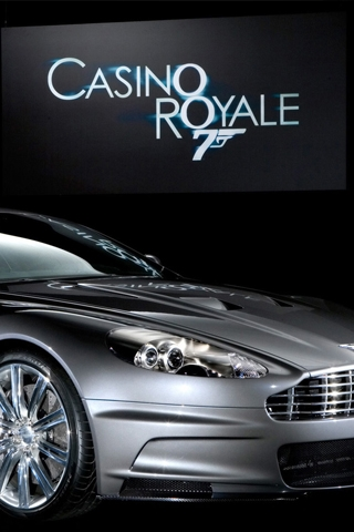 wallpaper iPhone Casino Royale DB9