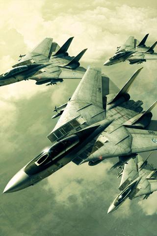 wallpaper iPhone F-14 Tomcats