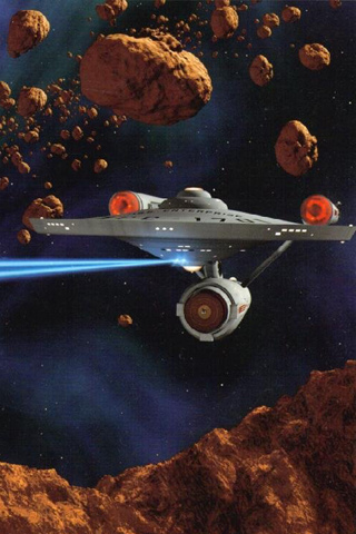 wallpaper iPhone USS Enterprise