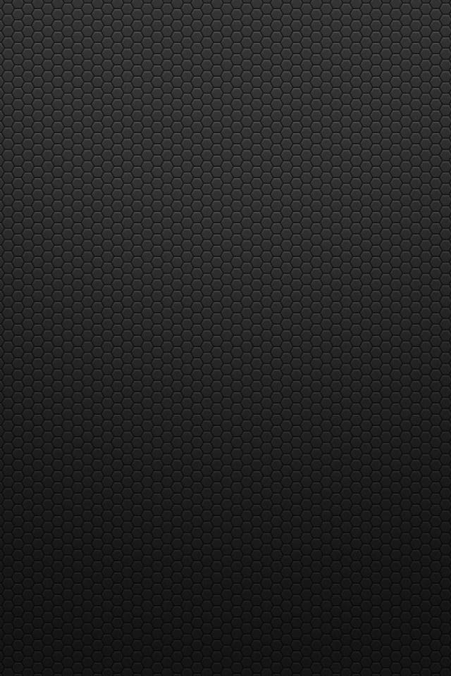 wallpaper iPhone Black Hexagons
