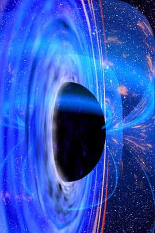 wallpaper iPhone Black Hole