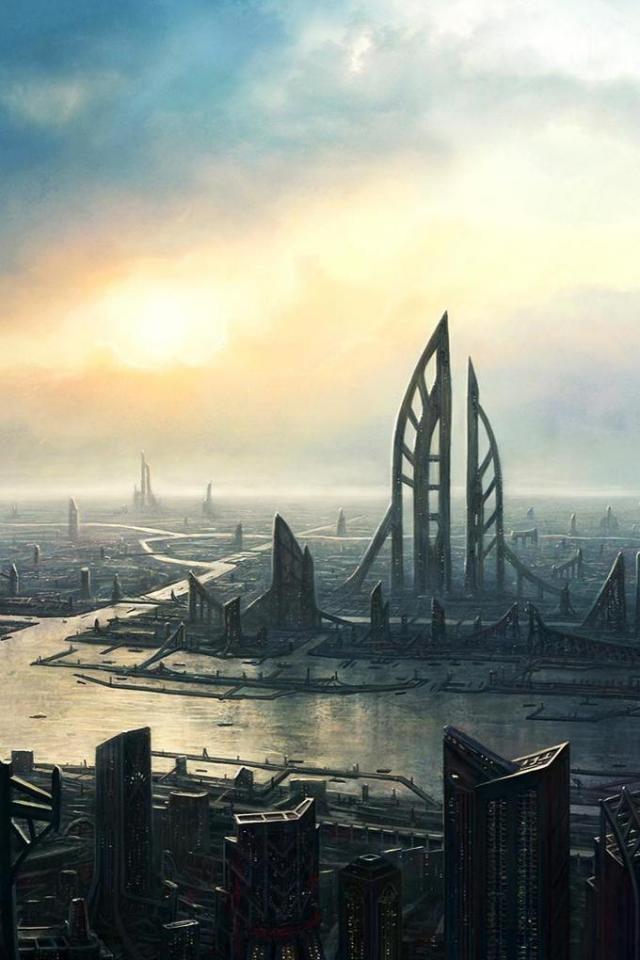 wallpaper iPhone River City