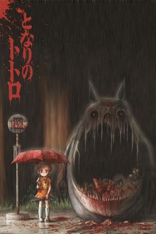 wallpaper iPhone Girl's Monster