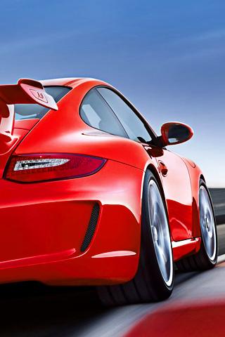 wallpaper iPhone Porsche 911 GT3