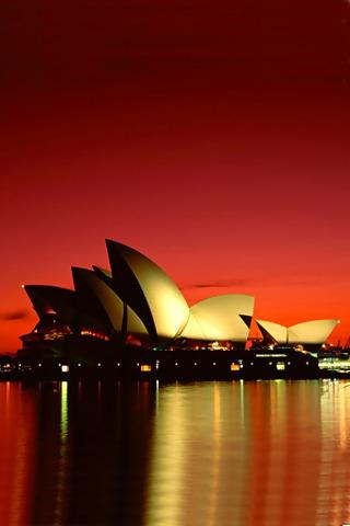 wallpaper iPhone Sydney Opera House