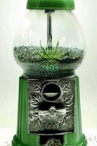 wallpaper iPhone Green Machine