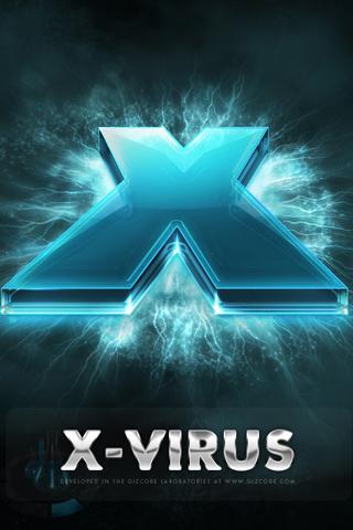 wallpaper iPhone x virus iphone