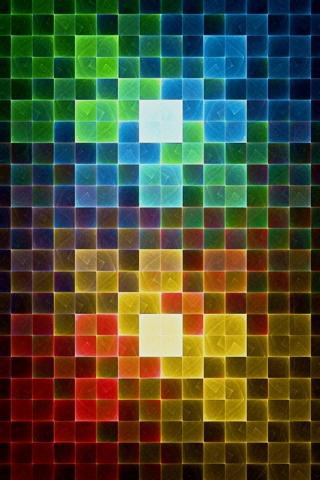 wallpaper iPhone Color Squares