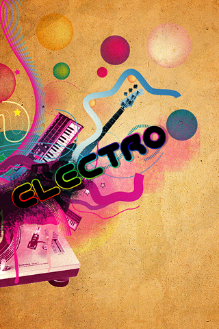 wallpaper iPhone Electro