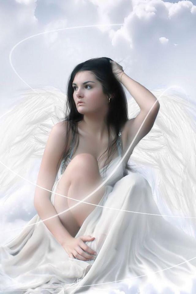 wallpaper iPhone Angel