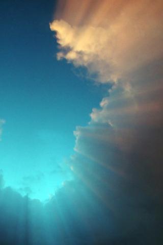 wallpaper iPhone Ciel nuage 312