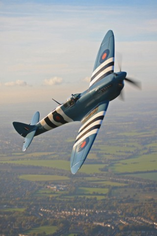 Wallpaper iPhone Supermarine Spitfire 3442