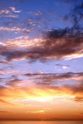 wallpaper iPhone Nantucket Sunset