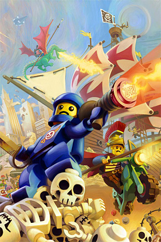 wallpaper iPhone Lego Knights Kingdom