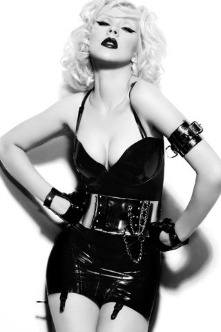 wallpaper iPhone Christina Aguilera