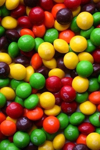 wallpaper iPhone Skittles