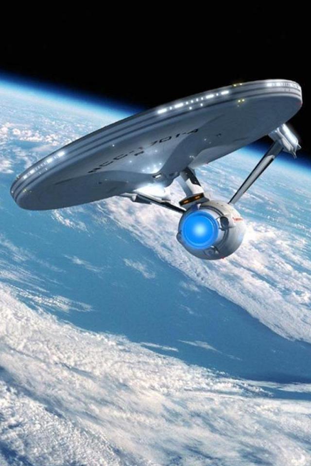 wallpaper iPhone USS Enterprise