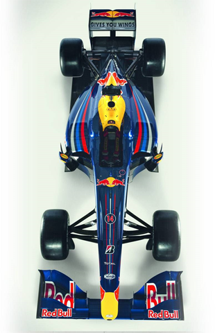 wallpaper iPhone Red Bull RB5