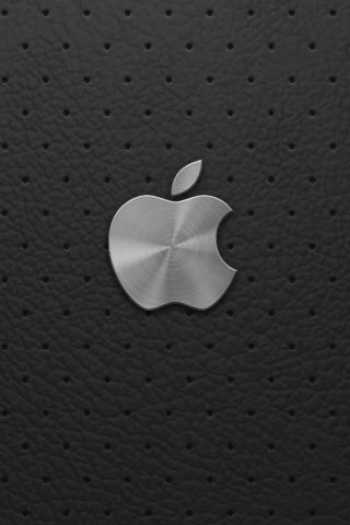 wallpaper iPhone Apple Leather