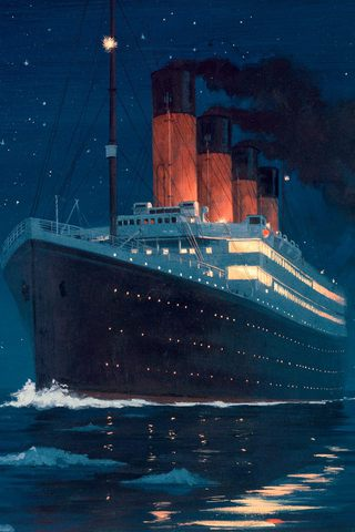 wallpaper iPhone HMS Titanic