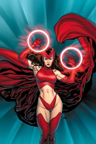 wallpaper iPhone Scarlet Witch