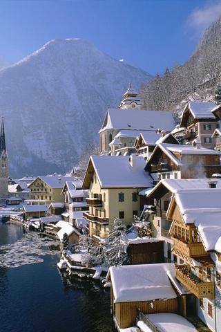 wallpaper iPhone Ski Resort
