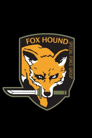 wallpaper iPhone Fox Hound