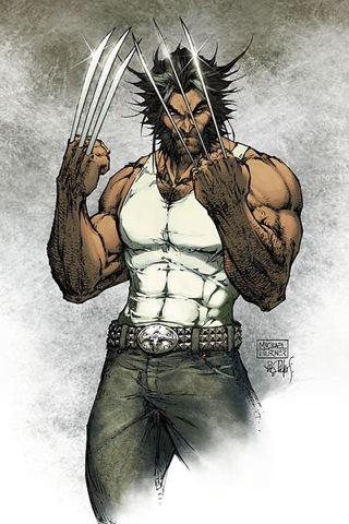 wallpaper iPhone Wolverine