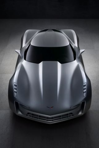 wallpaper iPhone Corvette Sideswipe