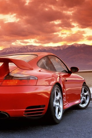 wallpaper iPhone Porsche 911 Turbo