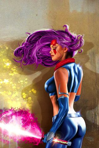 wallpaper iPhone Psylocke