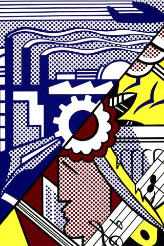 wallpaper iPhone Roy Lichtenstein