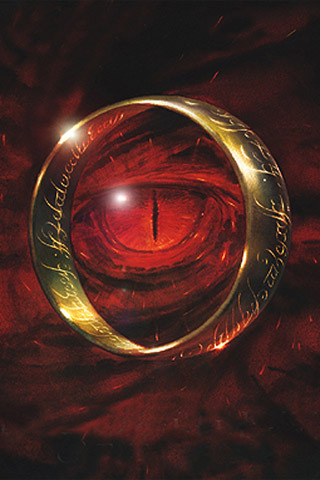 wallpaper iPhone The One Ring