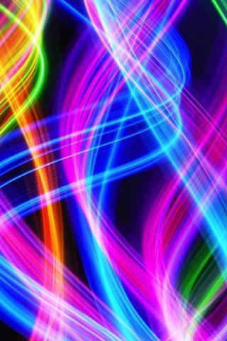 wallpaper iPhone Light Strands