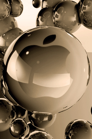 wallpaper iPhone Apple Spheres